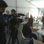 Sky news interview une stagiaire de la Fep