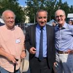 Jean-Michel Hitter, François Clavairoly et Jean Fontanieu