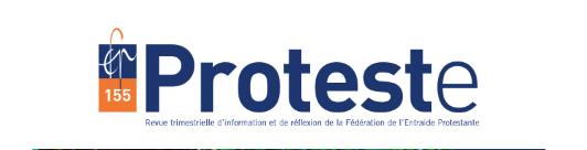 Magasine revue Fédération Entraide Protestante