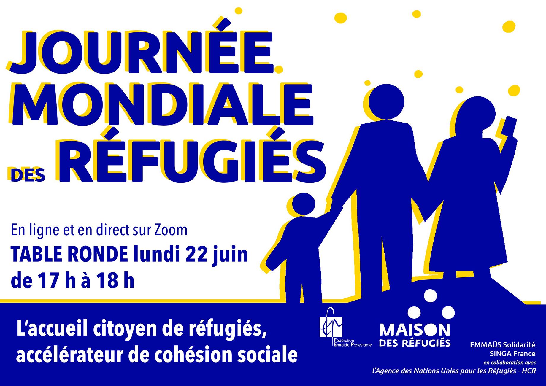 Journée mondiale des réfugiées - 22 juin 2020